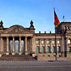 The Reichstag in Berlin is home to the Bundestag and Bundesrat which make up the German Parliament.